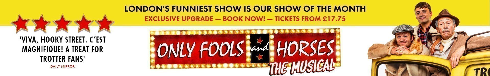 Only Fools Musical Tickets